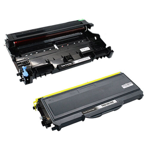 4PK TN360 Toner /& 1PK DR360 Drum Combo Compatible For Brother  MFC-7840W Printer