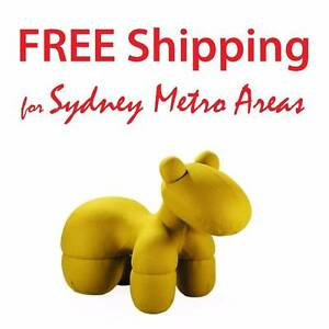 HALF PRICE - Eero Aarnio Style Cashmere Pony Chair Zetland Inner Sydney Preview