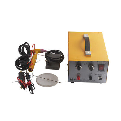 Mini Spot Welder Laser Spot Welding Machine Jewelry Tool Dx-30a 110v