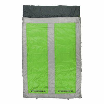 Saco de Dormir para 2 personas QG 225x140 Doble Manta Verde -22°C...