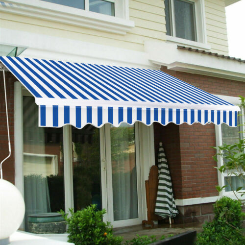 VIVOHOME Patio Awning Canopy Retractable Deck Door Outdoor S