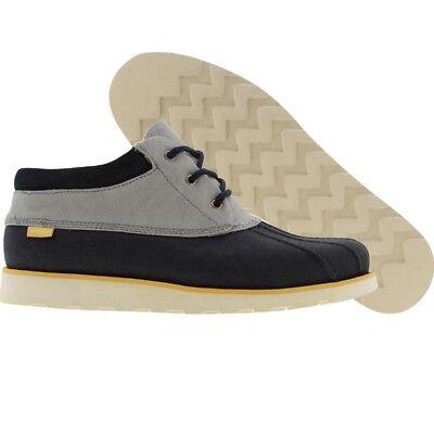 $139.99 $180 Pointer Pluckrose duck winter boots (navy / shark / white)  (White Winter Shoes)