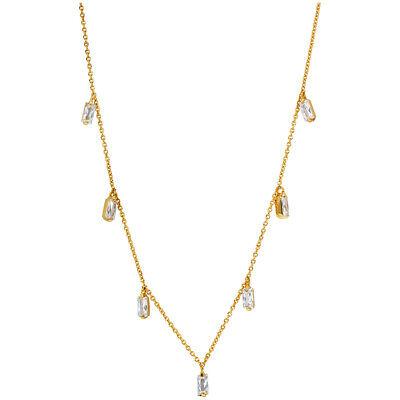Gorjana Amara Fringe Station Gold 18 inches Necklace 181111302G