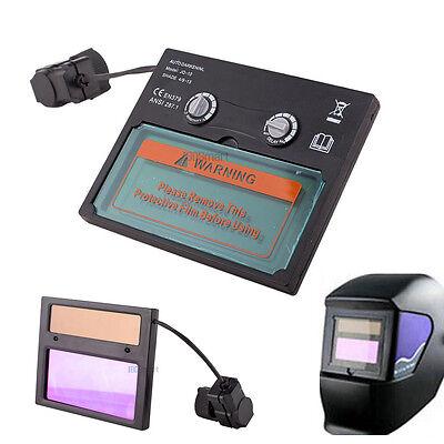 Auto Solar Darkening Welding Helmet Goggles Lens Uv Ir Filter Shade Adjustable