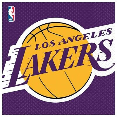 Lakers Basketball Sports Party Supplies (Lakers Party Supplies)