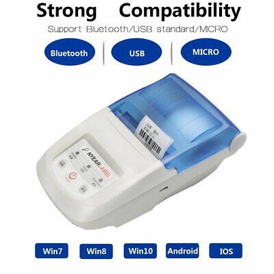 Nyear 58-10mm Adjust Label Receipt Printerpersonal Printer Mini Wireless