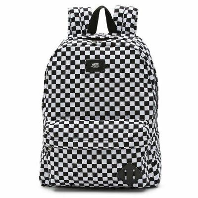 Vans Old Skool Black/White Checkerboard Backpack Rucksack Shoulder Laptop Bag