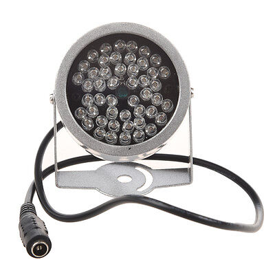 1X DC 12V 48-LED CCTV IR Infrared Night Vision Illuminator Diameter 7 cm SZHKUS