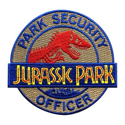 Park Ranger Costumes (Jurassic Park Ranger Security Officer Costume Iron on Sew on Patch (3.0 inch)
