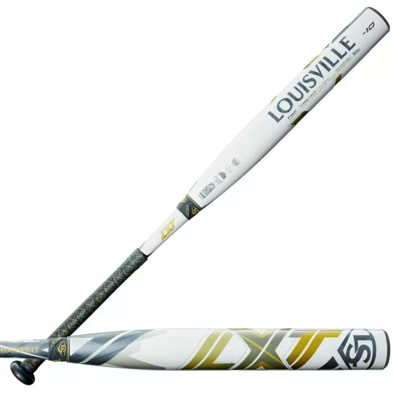 "2021 Louisville Slugger LXT -10 33/23 Fastpitch - White. Condition is ""New"""