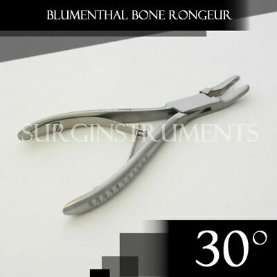 1 Piece Of Blumenthal Bone Rongeur 30 Degree 6 Surgical Dental Instruments