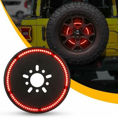 Spare Tire Third Brake Light LED Wheel Ring Light for Jeep Wrangler -