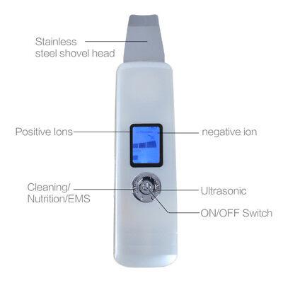 Mini tragbare Akku Ultraschall Gesichtshaut Wäscher Vibration