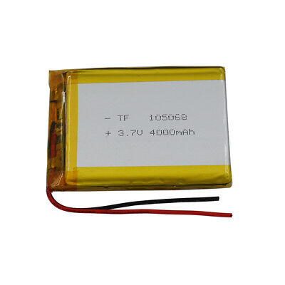 3.7V 4000 mAh Rechargeable Polymer Li ion Lithium 105068 for Mp4 Tablet PC GPS segunda mano  Embacar hacia Argentina