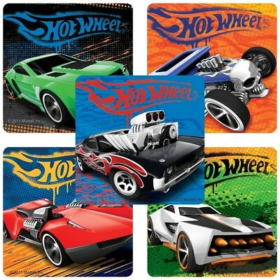 Hot Wheels Party Favors (20 Hot Wheels Classic STICKERS Party Favors Supplies for Birthday Treat Loot)