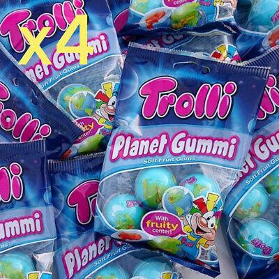 TROLLI Planet Gummi 4ea 75(g) X 4pack utube eatingshow mukbang asmr giftsnack