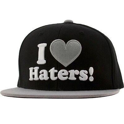 DGK Haters Snapback Cap (black / grey)
