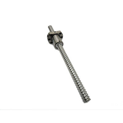 Ballscrew Sfu1204 L500mm Rolled C7 With 1204 Flange Single Ball Nut For Cnc Part