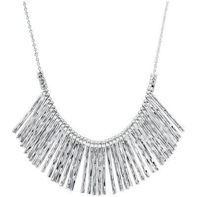 Gorjana Kylie Fan Silver Necklace 165105S