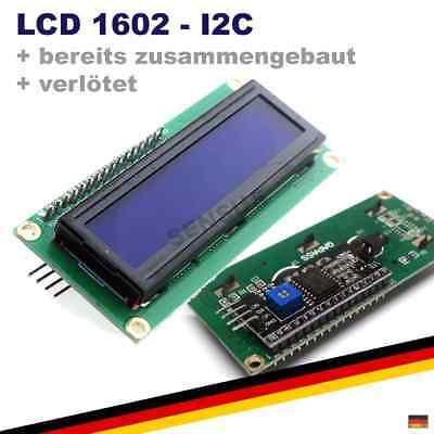 Lcd 1602 I2c Hd44780 Modul Verltet Display Anzeige Arduino Raspberry
