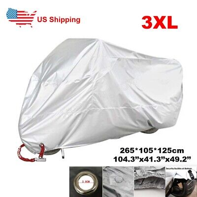 XXXXL Waterproof Motorcycle Cover For BMW K1200LT GTL R1100 1150 1200 RT Victory