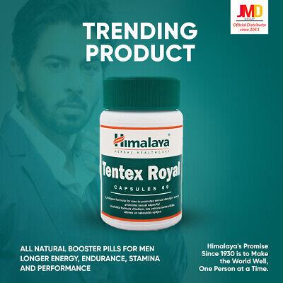 Himalaya Tentex Royal Caps 60tbs - Official UK Distributor