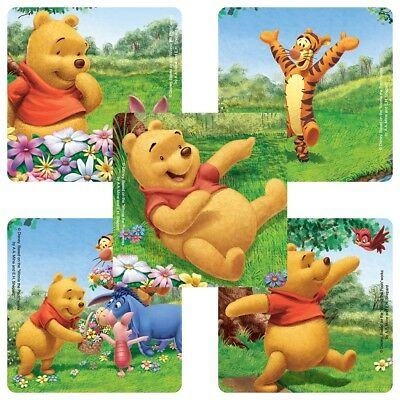 25 Winnie the Pooh Playful Stickers 2.5