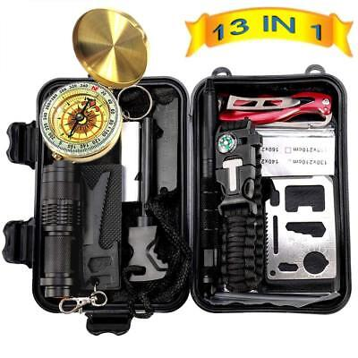 Best Emergency Survival Kit Outdoor Gear Tactical Hiking Camping Field