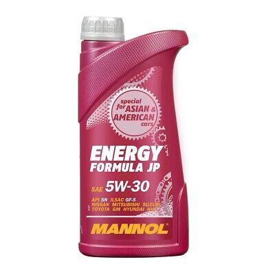 1 Liter Mannol 5W-30 Energy Formula JP Motoröl für GM Dexos 1 Gen2 WSS-M2C946-A