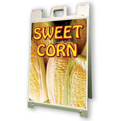 Sweet Corn Sidewalk A Frame 24x36 Concession Stand Outdoor