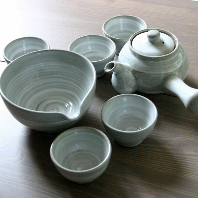 Korean tea set Brush Touch 5 cups