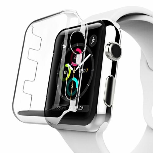 AMZER Full Coverage PC Hard Case for Apple Watch Series 3 42mm - Clear
