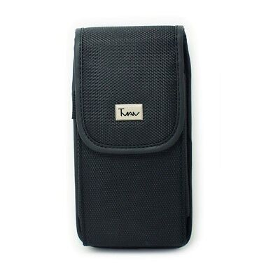 Vertical Heavy Duty Rugged Belt Clip Case Pouch For Garmin-Asus nuvifone M20