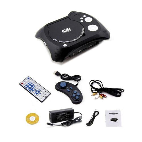 Black KSD Home Theater Portable DVD LCD Projector KSD-368 TV