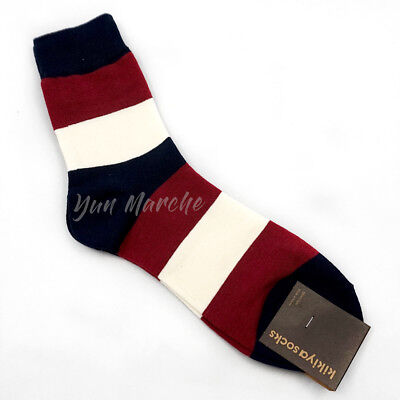 - Mens Fashion Stripe Dress Cotton Socks Lot 2 6 Classic Business Casual Sock Gift