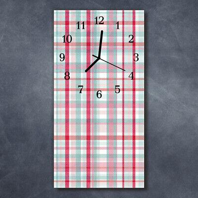 Tulup Reloj de pared de cristal cocina silencioso imagen 30x60 cm Hule...