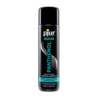pjur Aqua Panthenol Gleitmittel 100ml Ohne Aroma Gleitgel dermatologisch