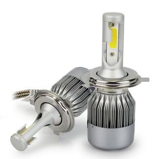 55W 4600LM H4 LED Bulbs