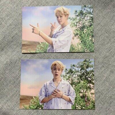 BTS Official Public Broadcast PhotoCard DNA Jimin version A B