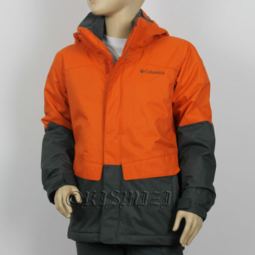 "New Boys Columbia ""Bugaboo"" Omni-Heat / Tech Outgrown Winter Jacket Coat Parka"