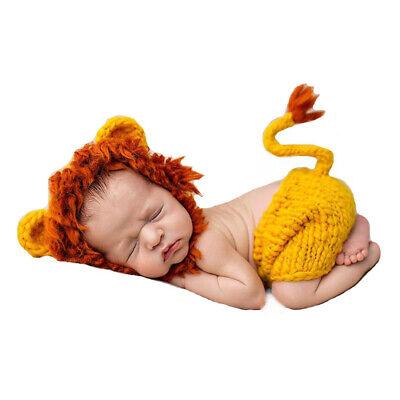 Strick Mütze Kostüm Häkelkostüm Neugeborenen Fotoshooting Babyfotografie - Häkeln Kostüm