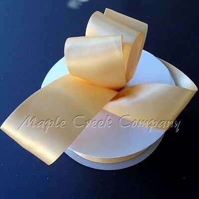 Double Face TOFFEE Satin Ribbon Assorted Sizes ~ High Quality ~ Great -