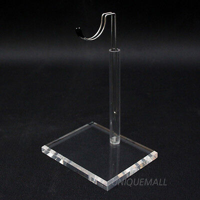"""1/6 12"""" TOY BONO Action Figure Doll Clear Acrylic Base Display Stand U Type"""