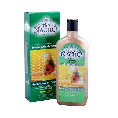 Shampoo Tío Nacho anti caída herbolaria mexicana 415 ml