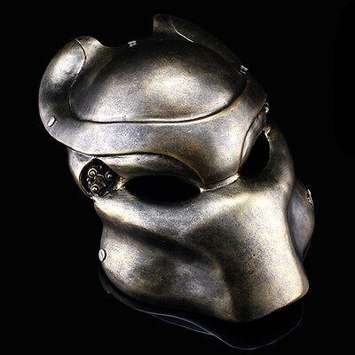 Sammlerstück Ancient Predator Cosplay Maske Schutzmaske Halloween Deluxe - Predator Kostüm
