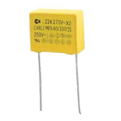 10 Pcs Ac 275v 0.22uf Polypropylene Film Safety Capacitors Mpx O1p2