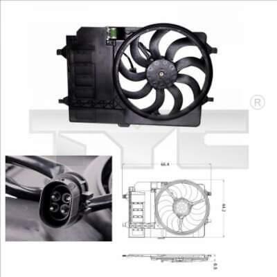 Ventilador Enfriador Del Radiador Refrigerador Eléctrico TYC (803-0001)