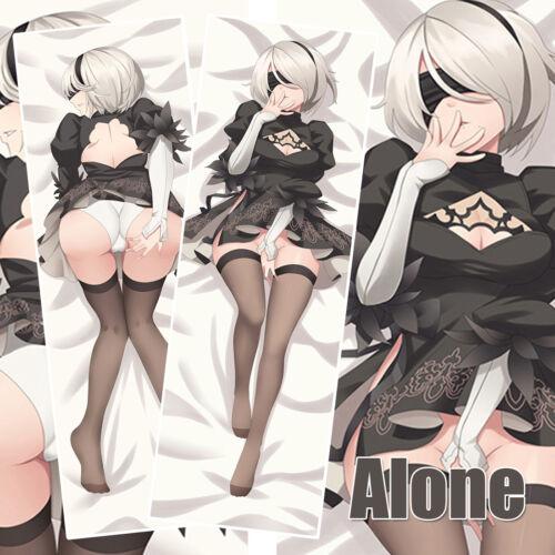 59/'/' Anime Nier Automata 2B Dakimakura Hugging Body Pillow Case Cover Otaku Gift