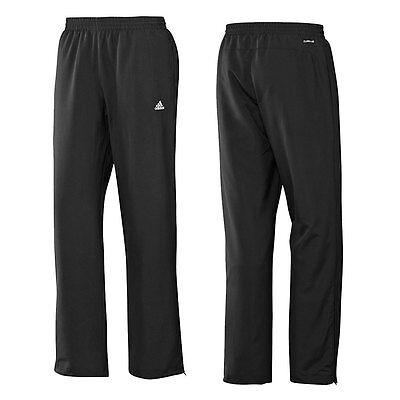 pretty nice b237b 84413 Adidas Ess Stanford Black Children Training Pants Jogging Sweatpants 104-176
