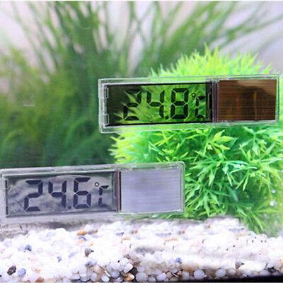 Lcd 3D Digital Electronic Measurement Fish Tank Aquarium Thermometer Random